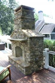 fireplace ideas diy images with stone small outdoor decks