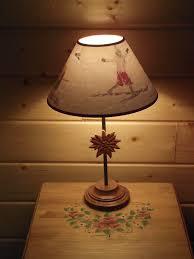 lampe de chevet montagne lampe chevet pour chalet chalet bois montagne adapte pour