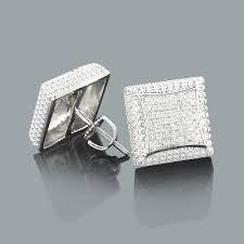 mens diamond stud earrings mens diamond stud earrings 0 17ct sterling silver