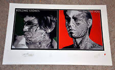 rolling stones tattoo you posters ebay