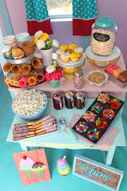 playhouse ice cream sundae party with merry mag summer fynes