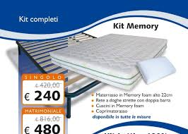rete materasso matrimoniale kit memory foam matrimoniale 160x190 materasso rete cuscini