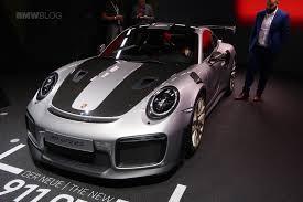 porsche u0027s latest race car comes to frankfurt 911 gt2 rs