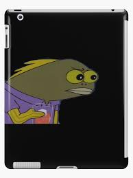 Spongebob Fish Meme - spongebob fish meme ipad cases skins by auroraflorealis redbubble