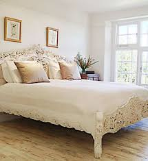 Rococo Bed Frame Sale Antique White Rococo Bed 4 6 5 King Or 6