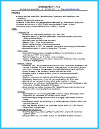 Biologist Resume Sample Clinical Data Analyst Resume Resume For Your Job Application