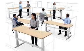bureau pour travailler debout blogue le travail assis debout un combo pour la santé