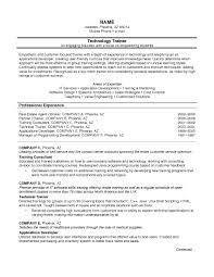 useful north american resume format for resume samples