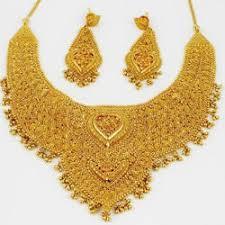 gold set bridal gold necklace set at rs 35000 set gold necklace set id
