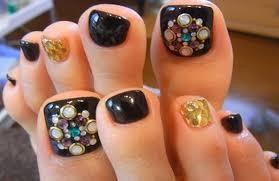 toe nail art design ideas for christmas u0026 holidays