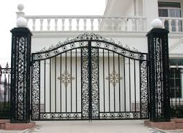 Beautiful Iron Gate Design For Home Gallery Interior Design
