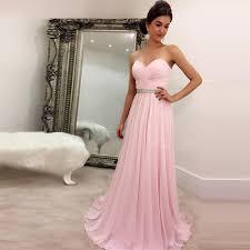 light pink graduation dresses sweetheart long a line chiffon pink simple prom dress prom