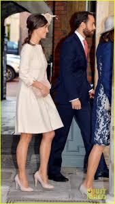 Middleton Pippa Prince Harry U0026 Pippa Middleton Attend Prince George U0027s Christening