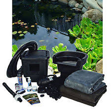 Backyard Fish Pond Kits by Aquascape Complete Outdoor Pond Kits Ebay