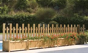 di legno per giardino steccato recinzione da giardino in legno cm 175x90 100h