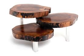 Natural Wood Coffee Tables Natural Wood Coffee Table Exotic Wood Furniture Stop By Our