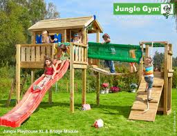 play centres additions by jungle gym bridge module tree house
