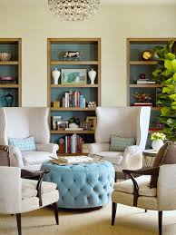 Shelving Furniture Living Room by Tufted Ottoman Living Room Seating