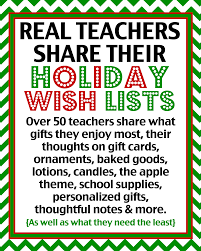 thanksgiving message to lover teacher gift ideas over 50 real teachers share what they really