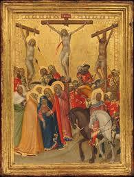 simone martini artist pietro lorenzetti the crucifixion the met