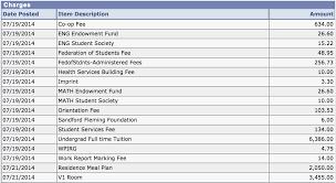 Travel Expense Spreadsheet First Year University Expenses Bo Peng