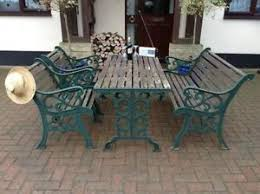 cast iron outdoor table cast iron table ebay