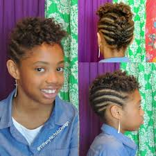 Roller Set Hairstyles Roller Set And Flat Twist Updo On Natural Hair Kid Friendly