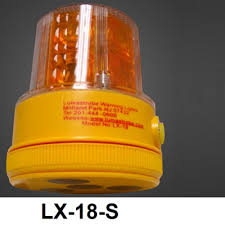 battery powered emergency lights for vehicles warning beacon lx 18