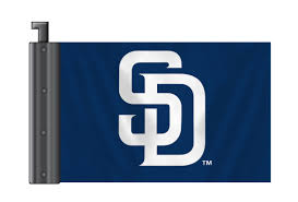 San Diego Chargers Flag Mlb Antenna Flags Fremont Die Consumer Products Inc