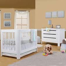 Crib White Convertible by Sorelle Chandler 2 Piece Nursery Set 4 In 1 Convertible Crib And