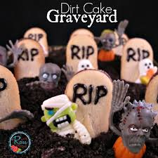 idea dirt cake graveyard what knows
