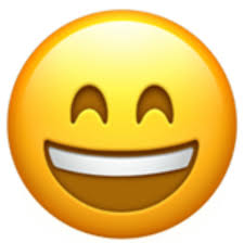 Chequered Flag Emoji A Happy And Smiling Face With Big Open Mouth Showing Teeth