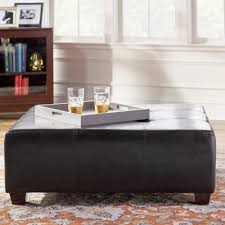 andover mills woodhill square tufted ottoman u0026 reviews wayfair