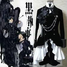 Black Butler Halloween Costumes 585 Cosplay Halloween Costumes Props Images