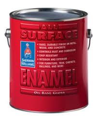 all surface enamel oil base sherwin williams