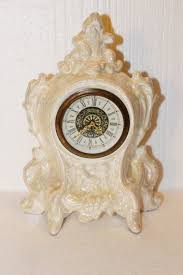 German Clocks Antique Luster Ware Norco Clock West Germany Wind Up Clock