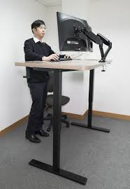 Standing Sitting Desk by Standing Desks India Stand Uptables And Desk Sit Stand Electric