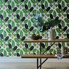 self adhesive wallpaper hojas cubanas on food52