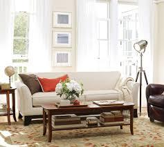 sofas center pottery barn sofa set slipcover with pipingpottery