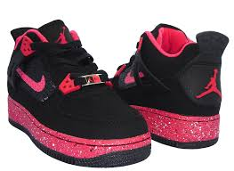 kid jordans wholesale jordans shoes air fusion 4 black pink kids shoes