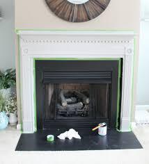 chalk paint mantel down home inspiration