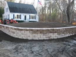 design and installation of block walls segmented retaining walls