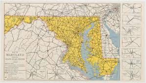 file maryland state highway map 1938 pdf wikimedia commons