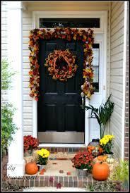 front door outstanding fall decor front door design fall decor
