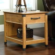 sauder coffee and end tables sauder end table square lift top coffee table in chestnut sauder
