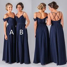 navy blue bridesmaids dresses bridesmaid blue dresses vosoi