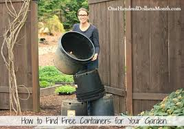 how to find free containers for your garden gardens garden