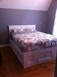 Woodworking Plans For Storage Beds by 100 Best Woodworking Bed Plans Images On Pinterest Woodwork