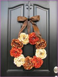 Diy Thanksgiving Door Decorations