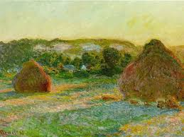 Claude Monet Blind A Few Thoughts From Monet On Those Stacks Of Wheat The New Yorker